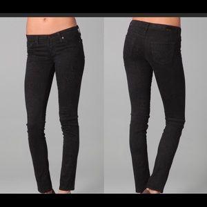 AG snake print skinny leggings jeans